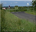 SK7017 : Road junction with the A607 by Mat Fascione