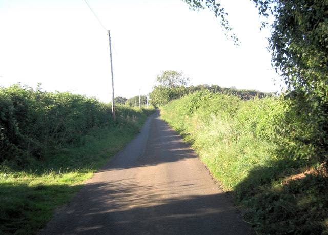 Unnamed lane south of Southwold Farm