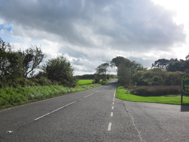 Road to Stranraer at Soleburn
