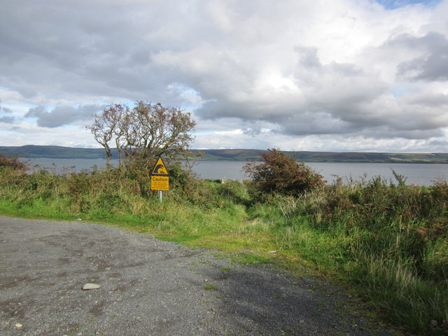Track to Loch Ryan
