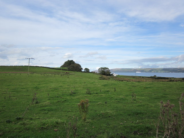 Farmland near Low Salchrie