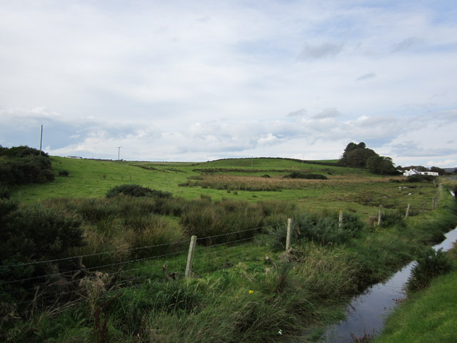 Farmland near Low Salchrie