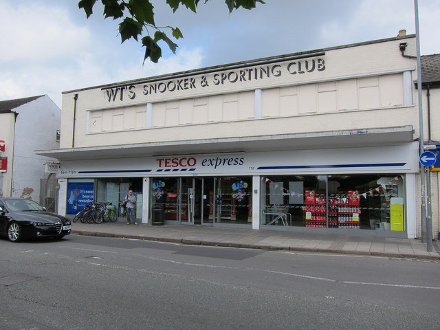 Tesco express, East Road