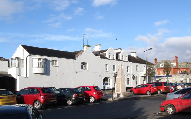 The Kilmorey Arms Hotel from Knockchree Avenue