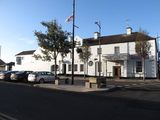 Kilmorey Hotel on the corner of Greencastle Street and Knockchree Avenue