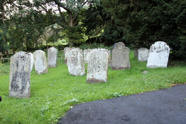 Graveyard, St David's Church, Cregrina, Powys
