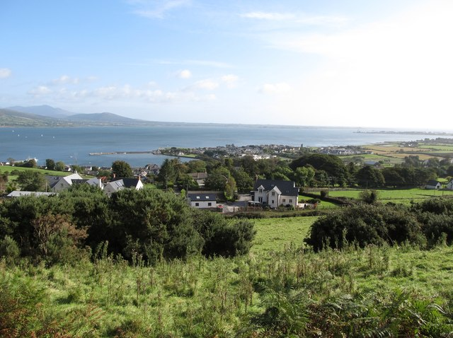Carlingford from the Commons Loop Path