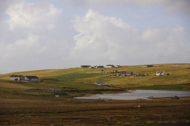 Loch of Scattlands, West Sandwick