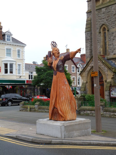 The Queen of Hearts, Llandudno
