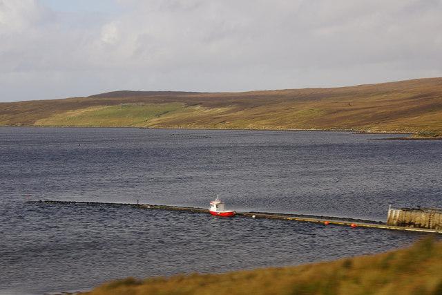 Whale Firth pier
