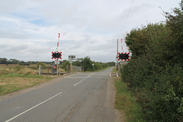 Burton Road Level Crossing