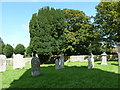 SY6593 : St Mary, Stratton: churchyard (G) by Basher Eyre
