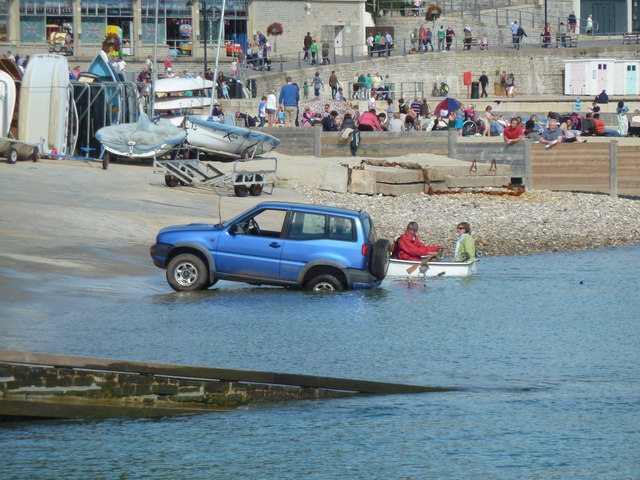 Don't flood the carburettor, Lyme Regis