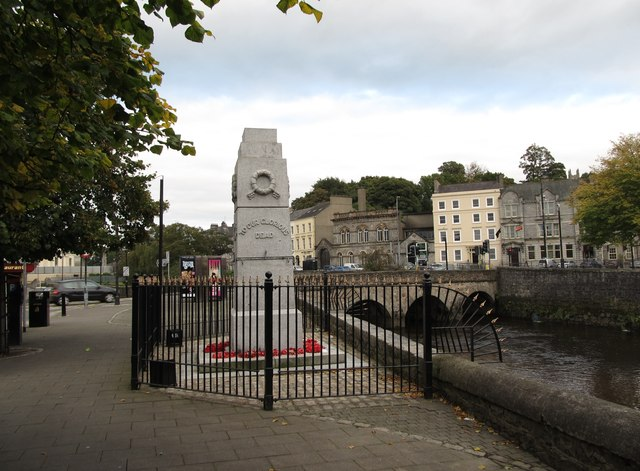 To Our Glorious Dead - Newry's War Memorial