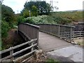 SJ9174 : River Bollin footbridge by Graham Hogg