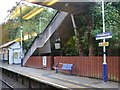 SJ9077 : Prestbury railway station by Graham Hogg