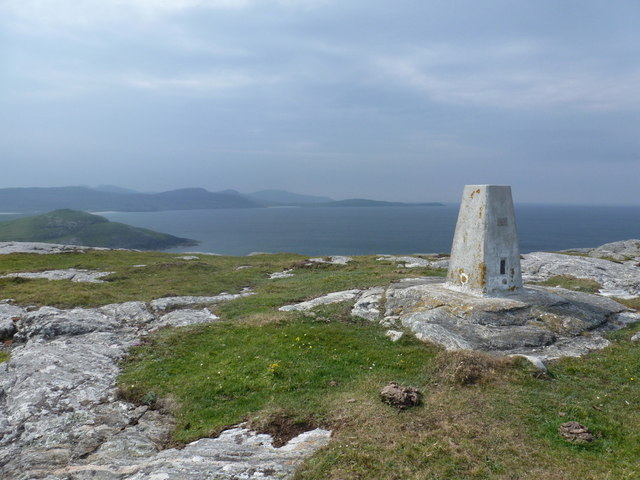 Eoligarry: southwesterly view from Beinn Sgùrabhal