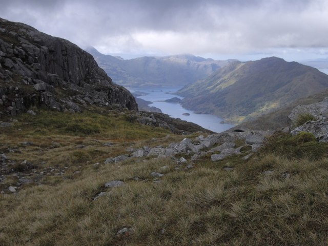 View to Loch Hourn