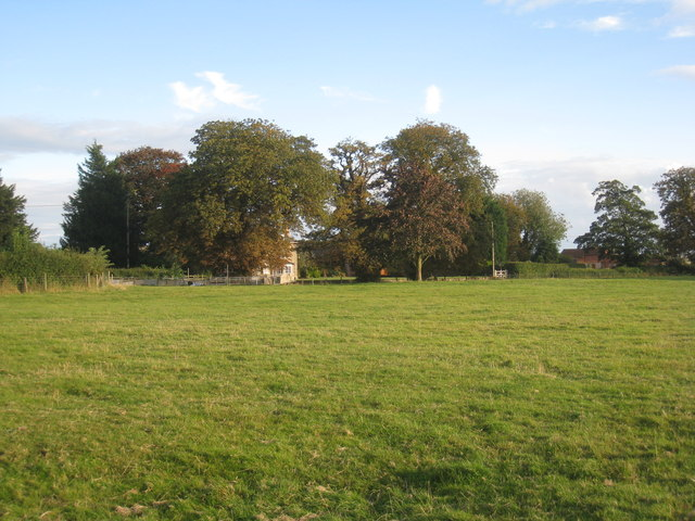 View towards Asgarby Hall
