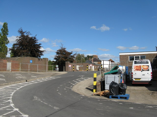 One way system in St James's Industrial Estate