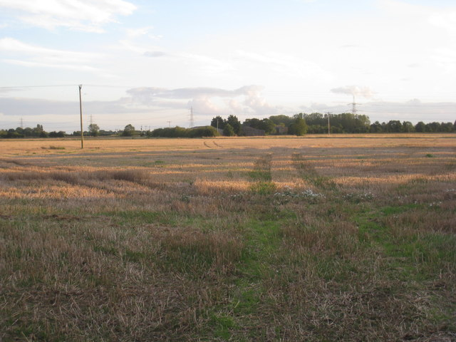 View towards Hall Farm, Heckington