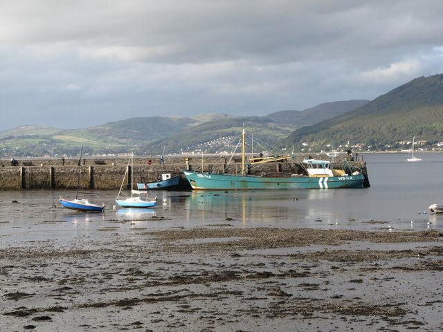 The Wexford registered mussel dredger 'Branding' at Carlingford