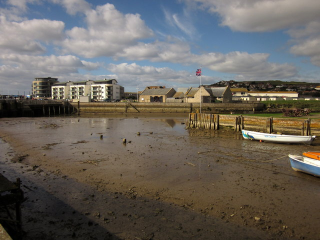 River junction, West Bay