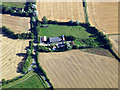 TL6636 : Lower House Farm from the air by Thomas Nugent