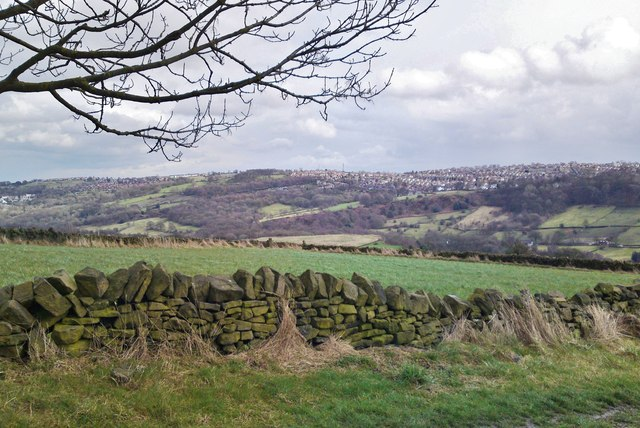 From Nethergate across Rivelin Valley