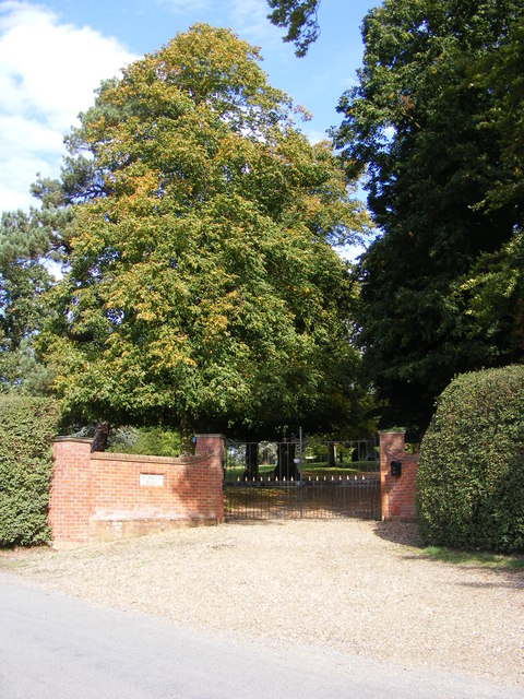 The entrance to Wissett Hall