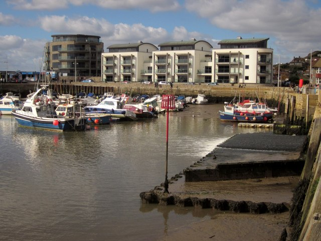 Flats on Quayside, West Bay