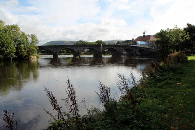 Wye Bridge, Builth Wells, Powys