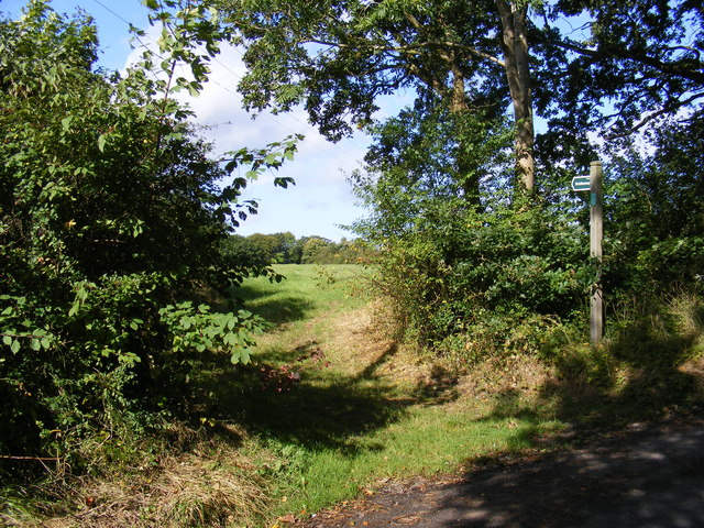 Banks Lane Bridleway to New Road
