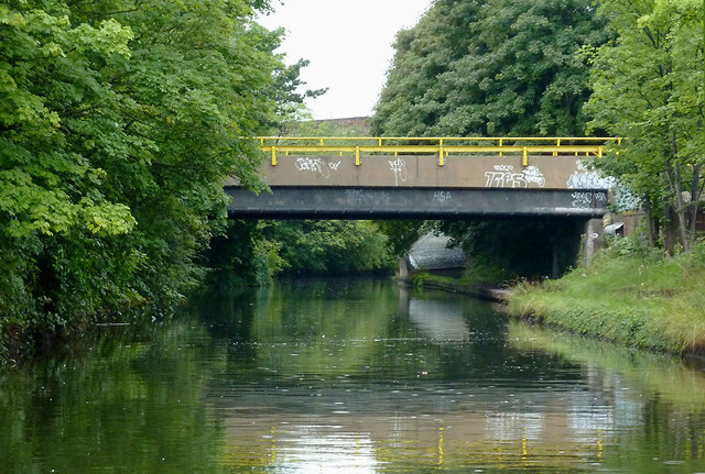 Grand Union Canal bridge near Tyseley, Birmingham