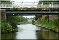 SP1084 : Grand Union Canal bridge near Tyseley, Birmingham by Roger  Kidd