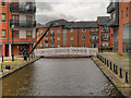 SJ8498 : Ashton Canal, Manchester City Centre by David Dixon