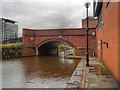 SJ8498 : Ashton Canal, Bridge#2 (Jutland Street Bridge) by David Dixon