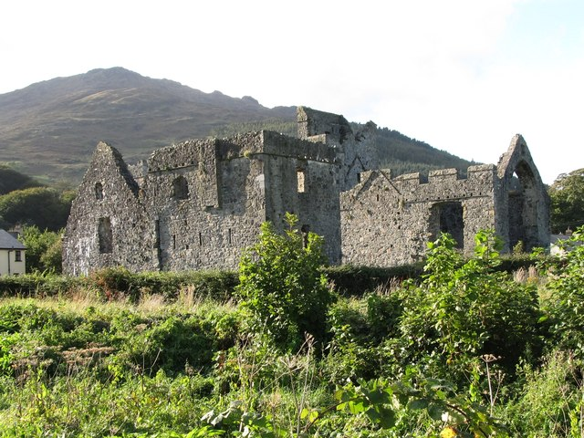 The domestic quarters at Carlingford Priory