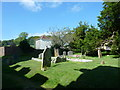 SY6399 : Sydling St Nicholas: churchyard (q) by Basher Eyre