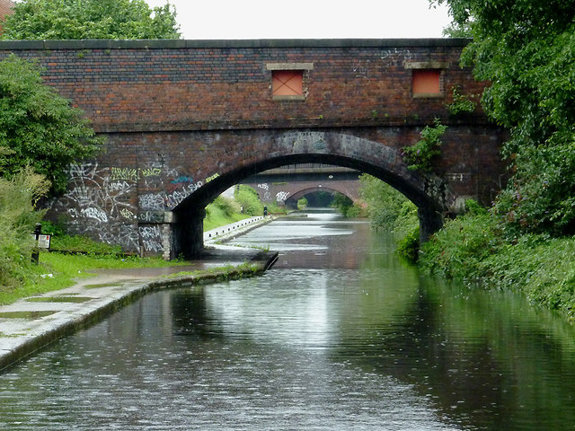 Lower Dartmouth Street Bridge near Bordesley, Birmingham