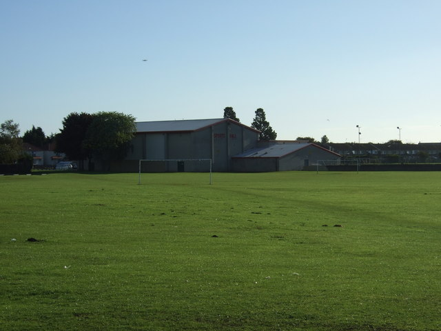 Playing fields off the A165, Bridlington