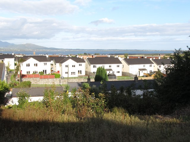 Modern residential estate in the Grove Road area