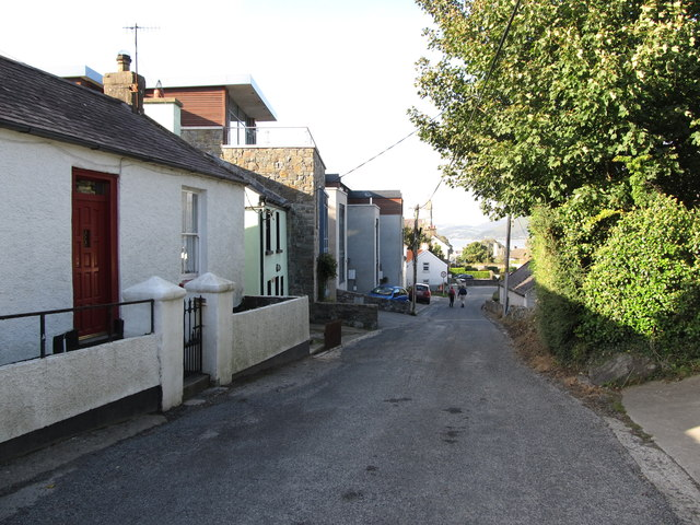 A mix of traditional cottages and modern apartments in Rooskey Road