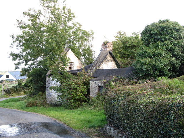 Ruined cottage in St Oliver's Park
