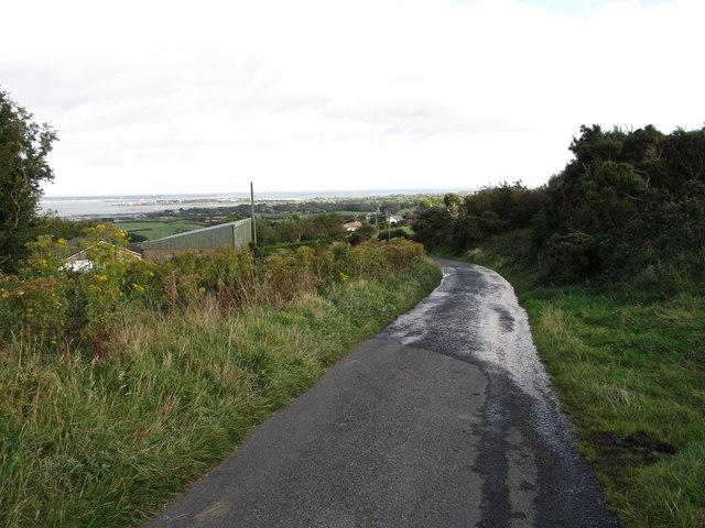 Descending St Oliver's Park Road