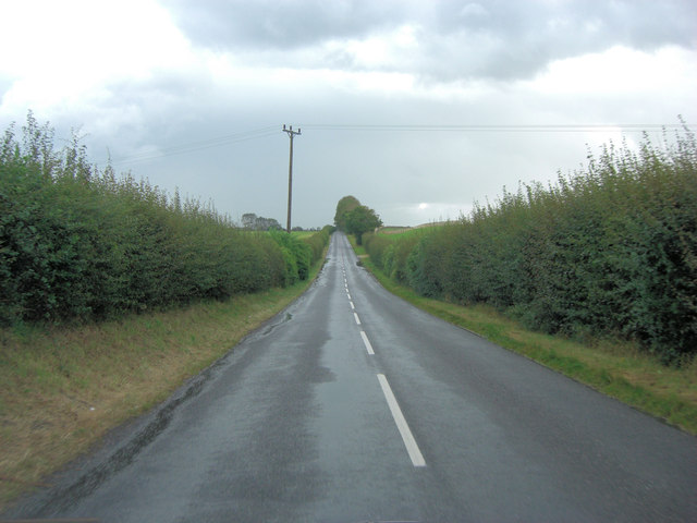 New Road north of Goodwood Airfield