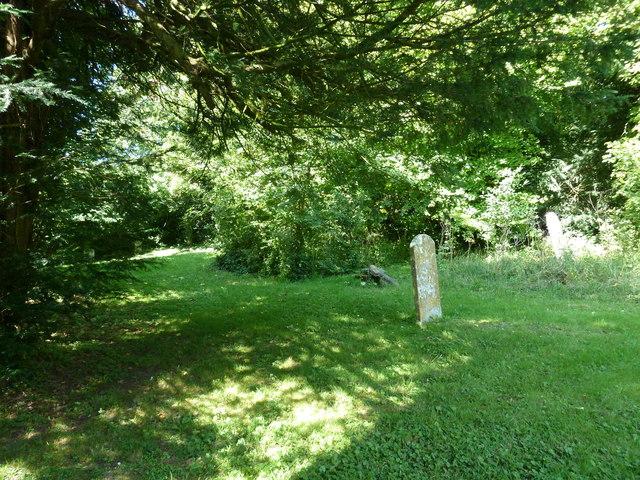 Holy Trinity, Godmanstone: churchyard (1)