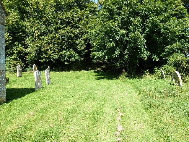Holy Trinity, Godmanstone: churchyard (9)