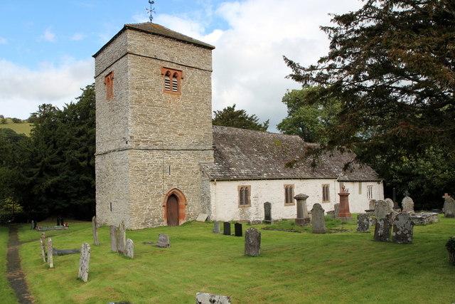 St Cewydd's Church, Aberedw, Powys