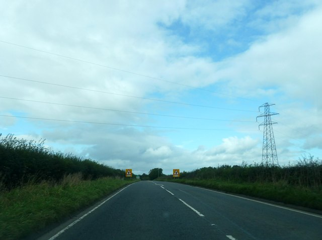 A7 approaching Westlinton